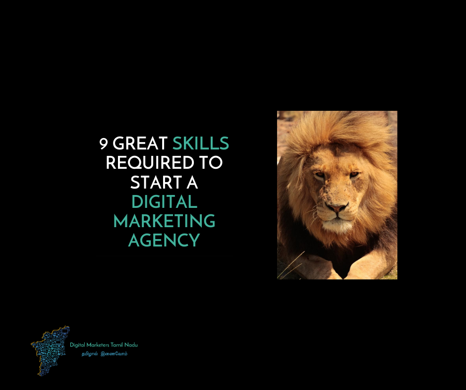 Skills requires to start a digitl marketing agency